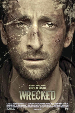 """Poster art for """"Wrecked."""""""