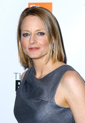 """Jodie Foster at the New York premiere of """"The Beaver."""""""