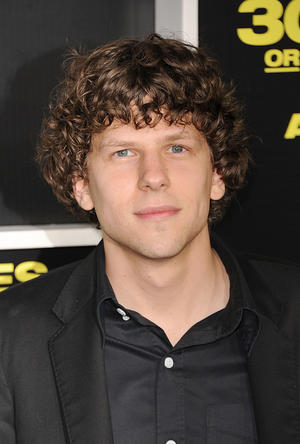"Jesse Eisenberg at the California premiere of ""30 Minutes Or Less."""
