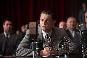 "Leonardo DiCaprio as J. Edgar Hoover in ""J. Edgar."""