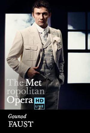 "Poster art for ""The Metropolitan Opera: Faust Encore."""