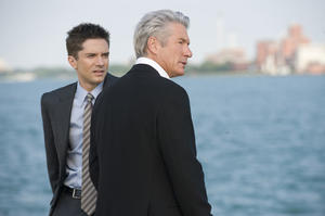 """Topher Grace and Richard Gere in """"The Double."""""""
