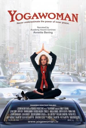 "Poster art for ""Yogawoman."""
