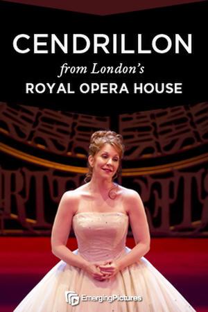 """Poster art for """"Cendrillon - Royal Opera House."""""""