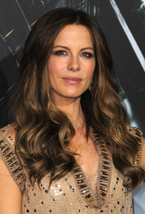 "Kate Beckinsale at the California premiere of ""Underworld Awakening."""