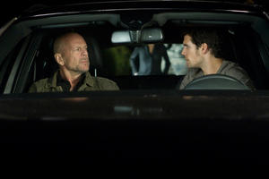 "Bruce Willis and Henry Cavill in ""The Cold Light Of Day."""