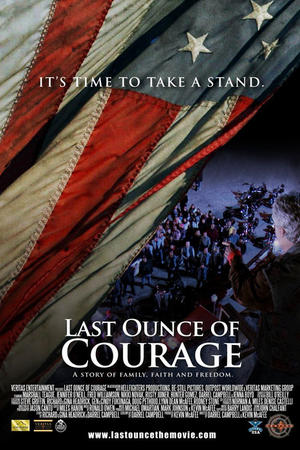 "Poster art for ""Last Ounce of Courage."""