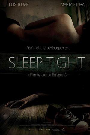"Poster art for ""Sleep Tight."""
