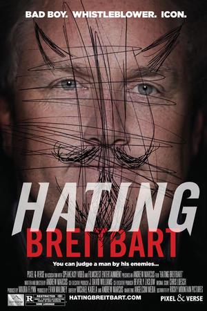 """Poster art for """"Hating Breitbart."""""""