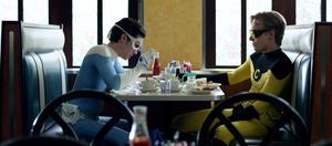 "Kris Lemche as Fridge and Joey Kern as C-Thru in ""Alter Egos."""