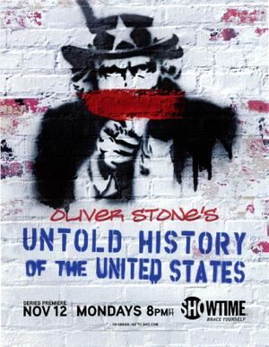 """Poster art for """"The Untold History of the United States."""""""
