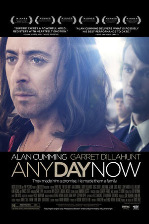 "Poster art for ""Any Day Now."""