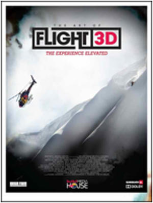 "Poster art for ""The Art of Flight 3D."""