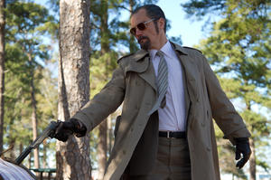 "Michael Shannon as Richard Kuklinski in ""The Iceman."""