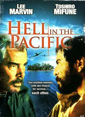 "Poster art for ""Hell in the Pacific."""