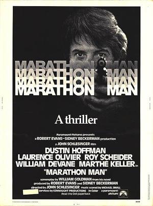 "Poster art for ""Marathon Man."""