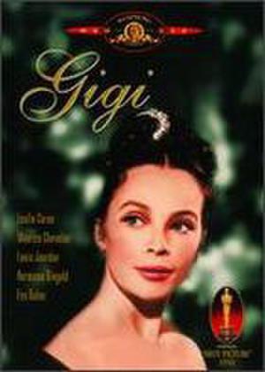 """Poster art for """"Gigi."""""""
