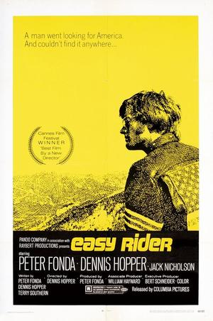 """Poster art for """"Easy Rider."""""""