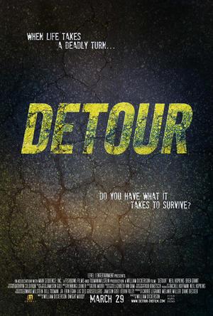 """Poster art for """"Detour."""""""