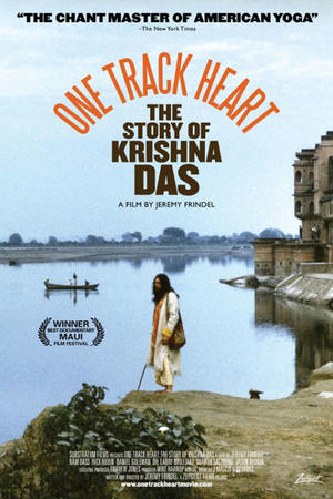 "Poster art for ""One Track Heart: The Story of Krishna Das."""