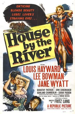"""Poster art for """"House by the River."""""""