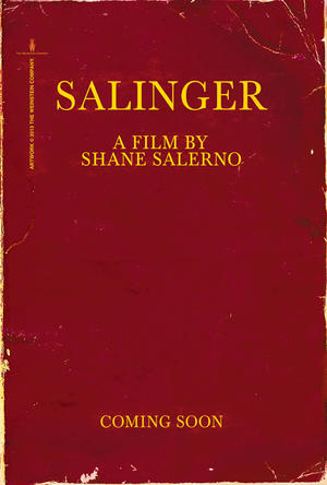 "Poster art for ""Salinger."""