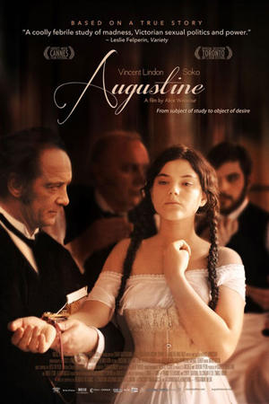"Poster art for ""Augustine."""