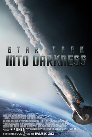 "Poster art for ""Star Trek into Darkness."""
