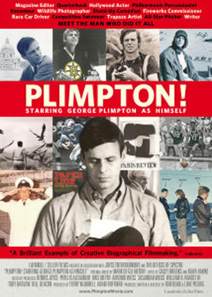 "Poster art for ""Plimpton! Starring George Plimpton as Himself."""