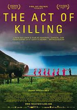 "Poster art for ""The Act of Killing."""