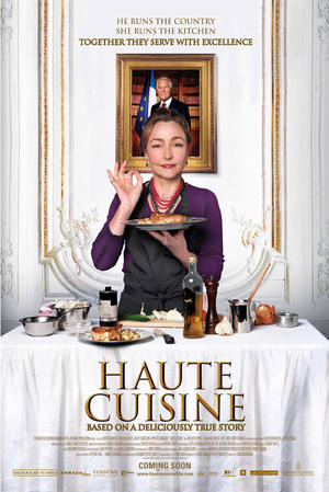 "Poster art for ""Haute Cuisine."""