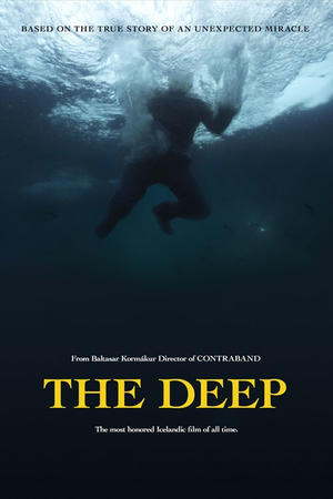 "Poster art for ""The Deep."""