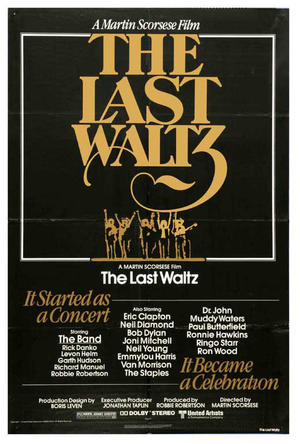 """Poster art for """"The Last Waltz."""""""