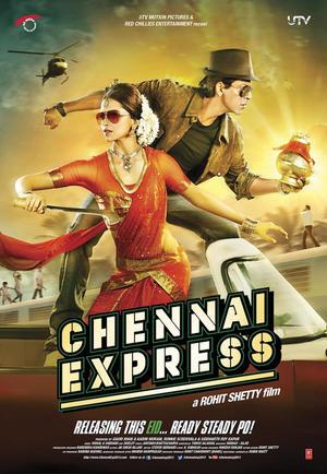 "Poster art for ""Chennai Express."""