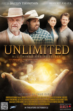 """Poster art for """"Unlimited."""""""