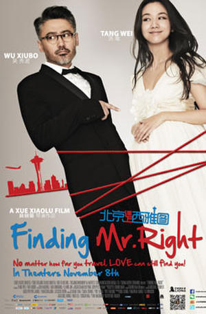 "Poster art for ""Finding Mr. Right."""