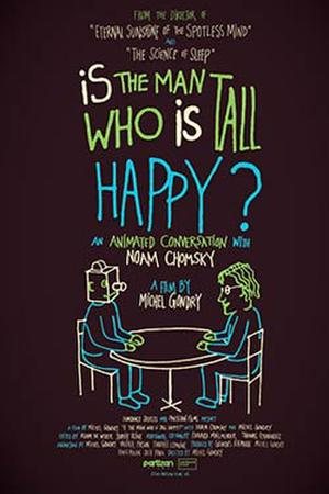 """Poster art for """"Is The Man Who Is Tall Happy?"""""""