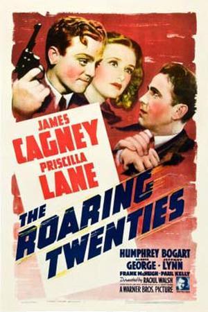 """Poster art for """"The Roaring Twenties."""""""