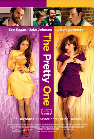 "Poster art for ""The Pretty One."""