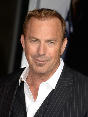 "Kevin Costner at the California premiere of ""3 Days to Kill."""