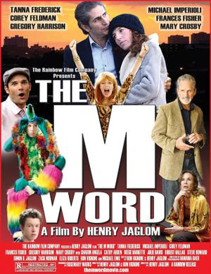 """Poster art for """"The M Word."""""""