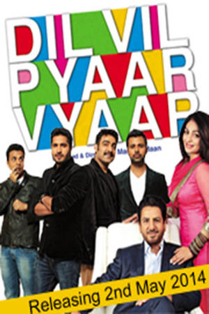 "Poster art for ""Dil Vil Pyaar Vyaar"""