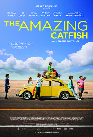 "Poster art for ""The Amazing Catfish."""