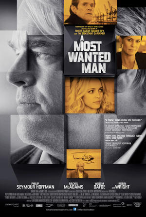 "Poster art for ""A Most Wanted Man."""