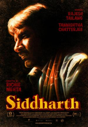 """Poster art for """"Siddharth."""""""