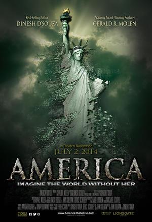 """Poster art for """"America."""""""