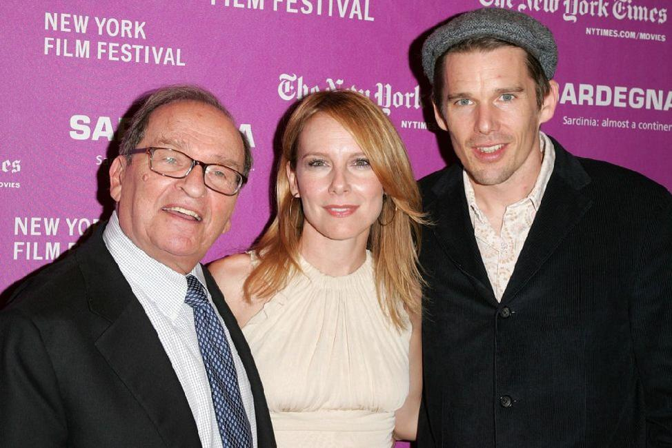 Sidney Lumet, Amy Ryan and Ethan Hawke at Rose Theatre for the THINKFilm premiere of
