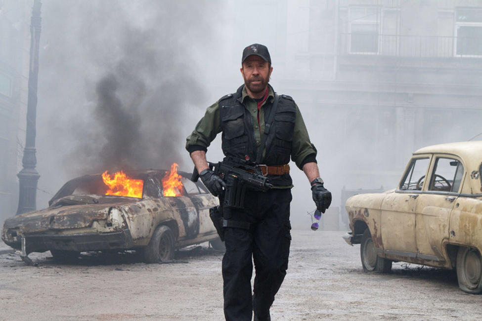 Chuck Norris as Booker in