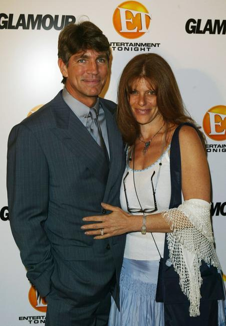 Eric Roberts and his wife Elisa at the Entertainment Tonight Emmy Party.