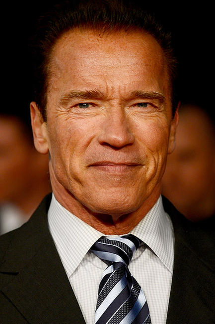 Arnold Schwarzenegger at the premiere of